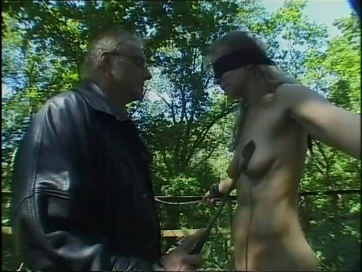 German Slave used in the Woods - Part 1