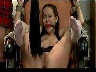 Amai Liu and Amber Rayn Lesbian BDSM