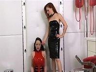 Latex Lesbian Submissive