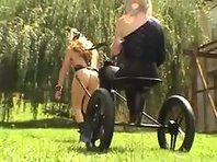 French Ponyplay Lesbians