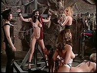 Lesbian BDSM Orgy