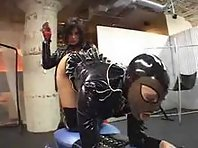 Domination and Latex lesbians