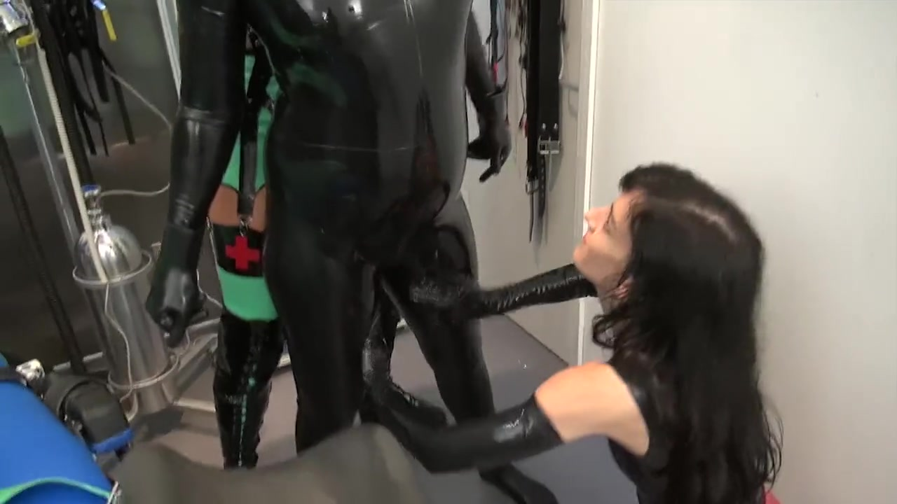 Heavy Rubber Lezdom