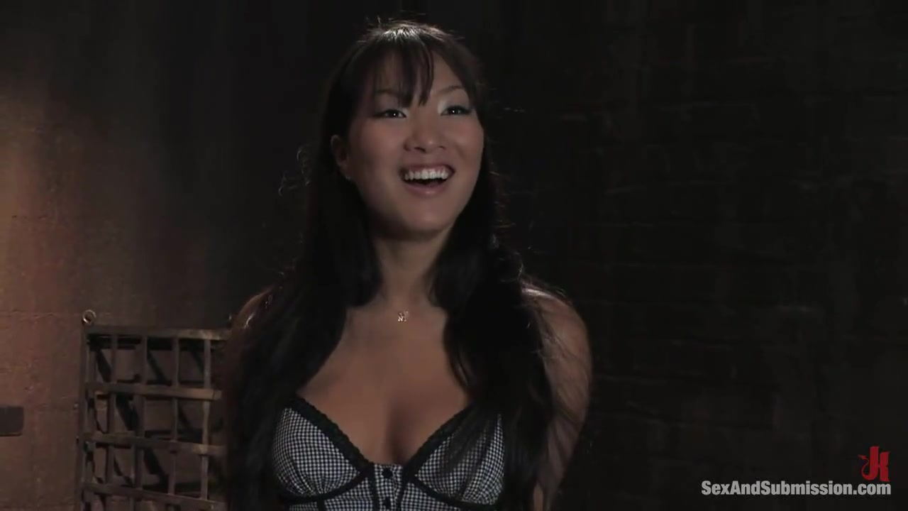 Asa Akira Tied up while Analized and Taken - Part 2