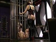 Caged Cunt - Lesbian BDSM