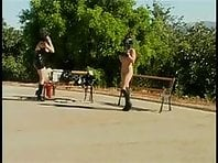 Outdoor Ponygirl - Lesbian BDSM