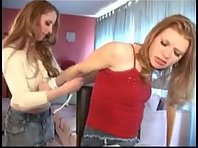 Lesbian Domme uses her bitch