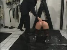 Anal play for German Slave Girl