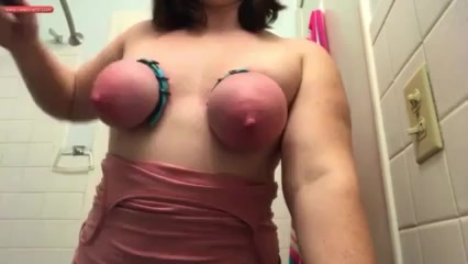 Torturing her Bind boobs