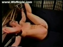 Two bitches tied up and getting pussy spanked