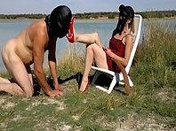 Ama Dominante - Outdoor femdom