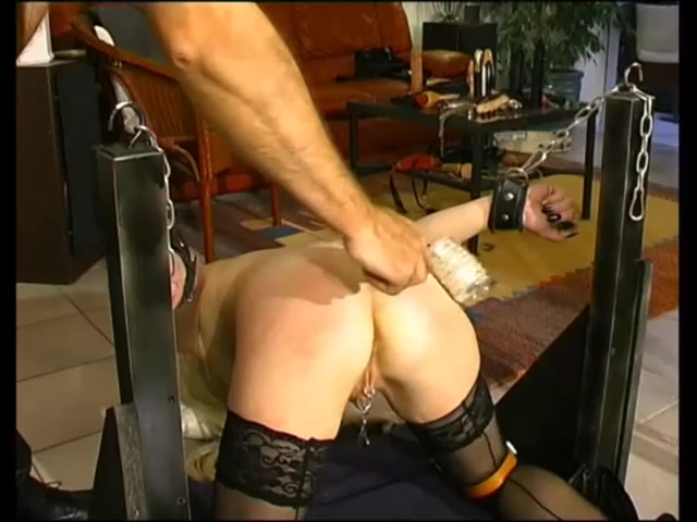 Mature French Slave Tortured