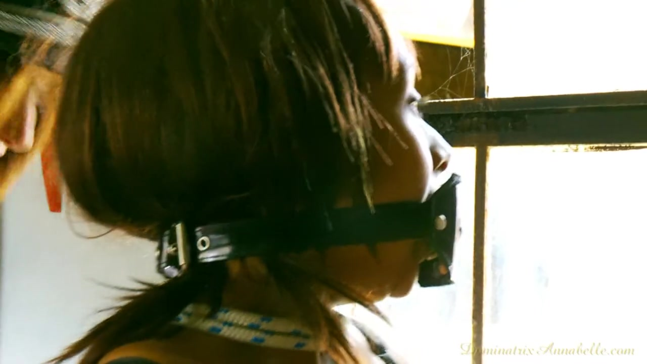 Dominatrix Annabelle Torturing Two Slaves - Part 2