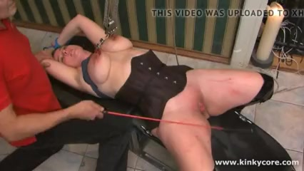 Tit Needle Torture and Caning