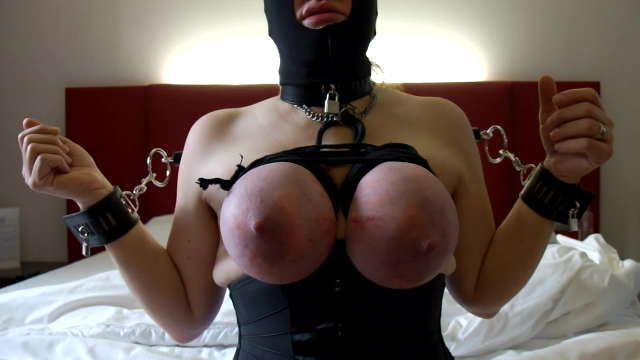 Bound tits Punished