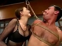 Femdom Bondage Whipping and Punishment