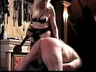 Strict Mistress and Slave
