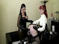 Lady Asmondena & Lady Alexa - Sissy Ass Tortured 3