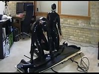 Heavy Rubber - Mistress and Her Toy