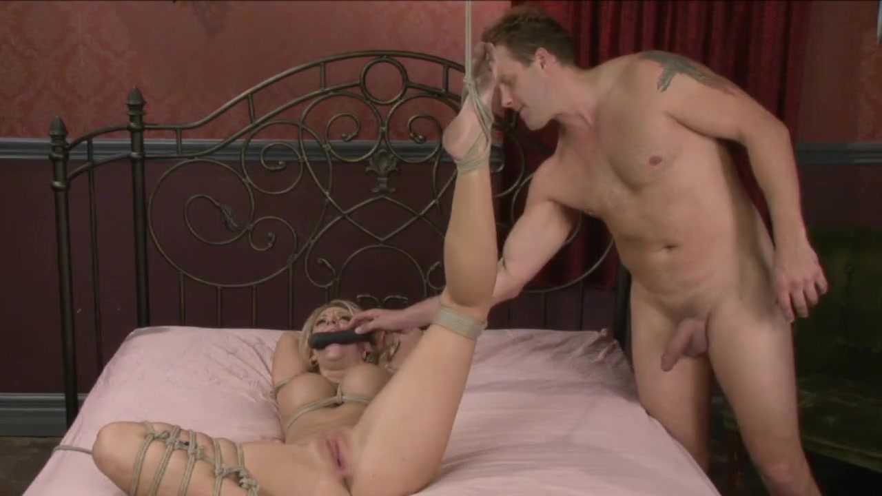 Tied Blonde Gets Banged - 2