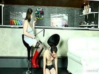 Obedient Slave for her Mistress - Femdom