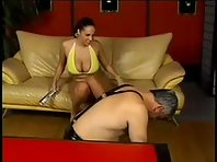 Mistress Training her Male Slave