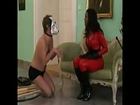 White Doggy in Training - Interracial Femdom