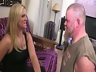 Blonde Mistress Faceslapping