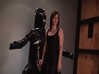 Latex Slave's Ruined Orgasm
