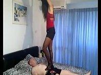 Thai Mistress Foot Worship