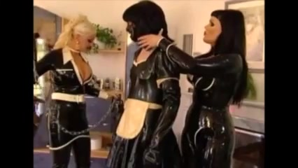 Mistress Stella and Friend Dominate Sissy