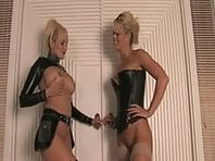 Hardcore Femdom by Two Mistresses