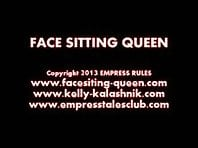 Femdom Face Sitting Queen