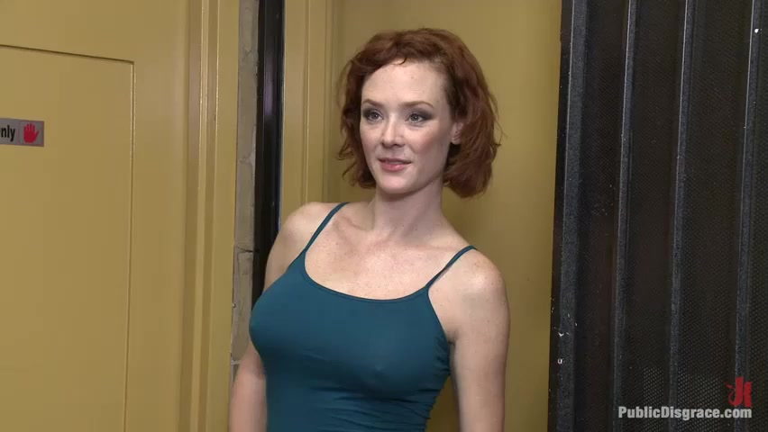 Audrey Hollander in Porn Shop