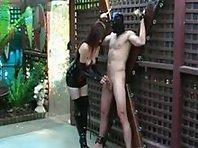 Slave teased and denied