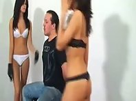 hard and cruel Femdom Faceslapping