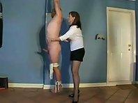 Suspension Milking - Femdom BDSM