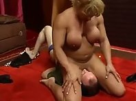 Muscle Mistress humiliates Part 2