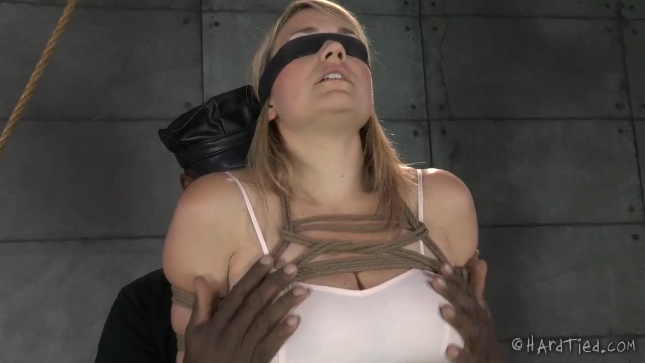 Sweet Innocent Blonde Tied And Punished