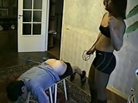 Russian Femdom - Heavy Whipping