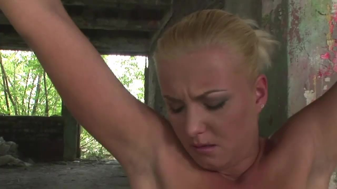 Desperated-suspended Victim Struggling While Fucked Hard
