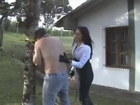 Latin Mistress - Outdoor Punishment