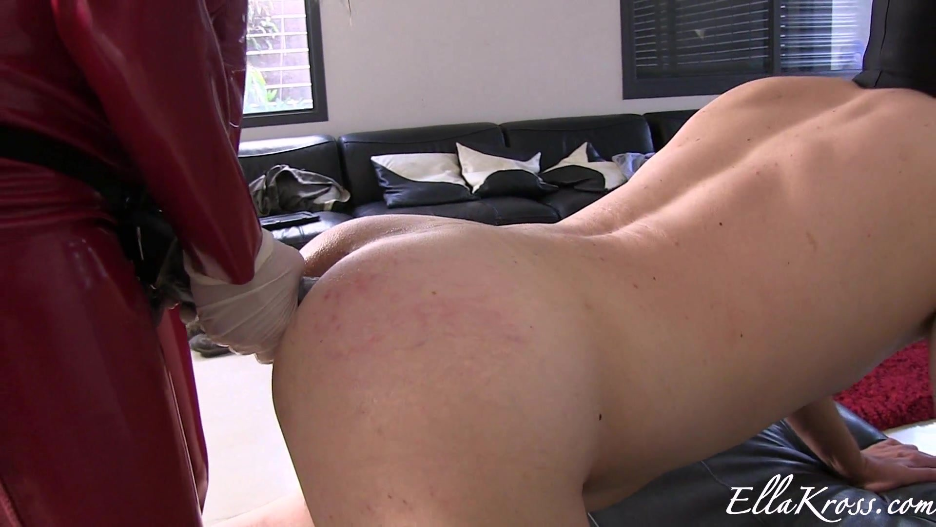 Huge Strapon for Male Slut slave