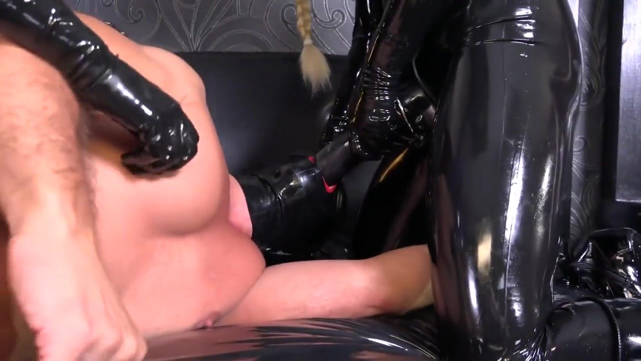 Latex Strap-on Bitches