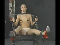 Tits tortured with electricity - Insex