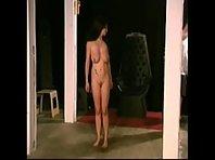 Torturing bound breasts