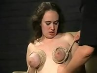 Breast torture for English Slave