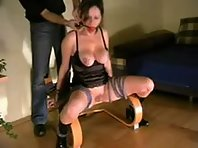 Breast Bondage at Home