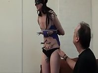Tit Torture and Pain for Brunette