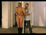 Rubber Bondage BDSM and Tit Torture